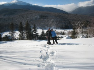 Snowshoeing in NH