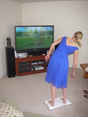 Revel Wii Fit soccer